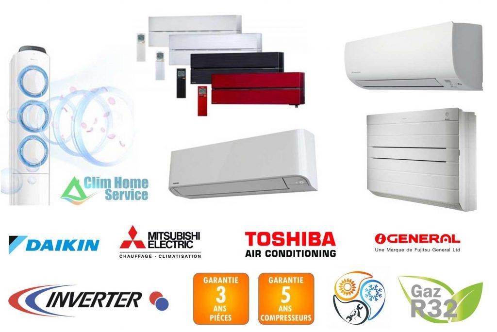 matériel marques de climatisation